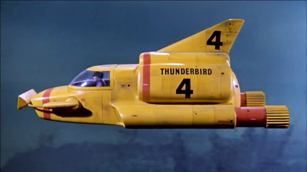 Thunderbirds Are Go Thunderbird 4 Spotted In London