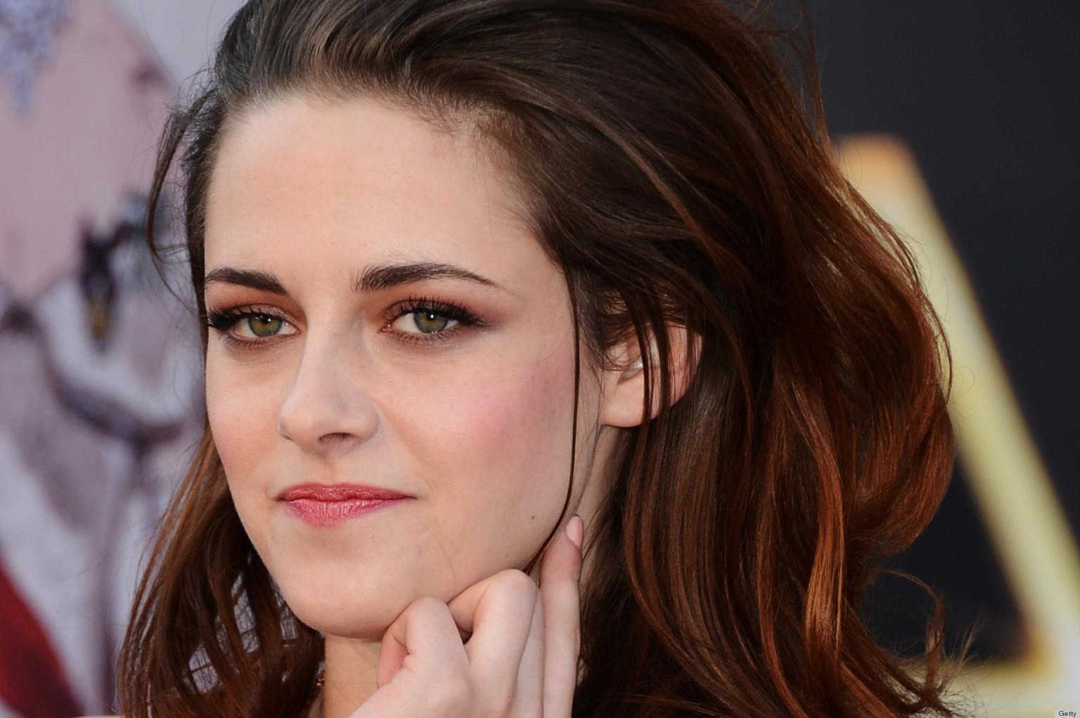 Actress Kristen Stewar...