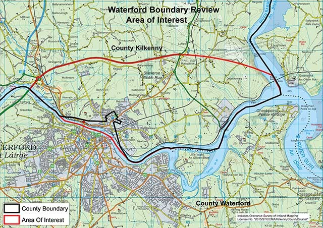 Waterford Boundary Review Area Of Interest