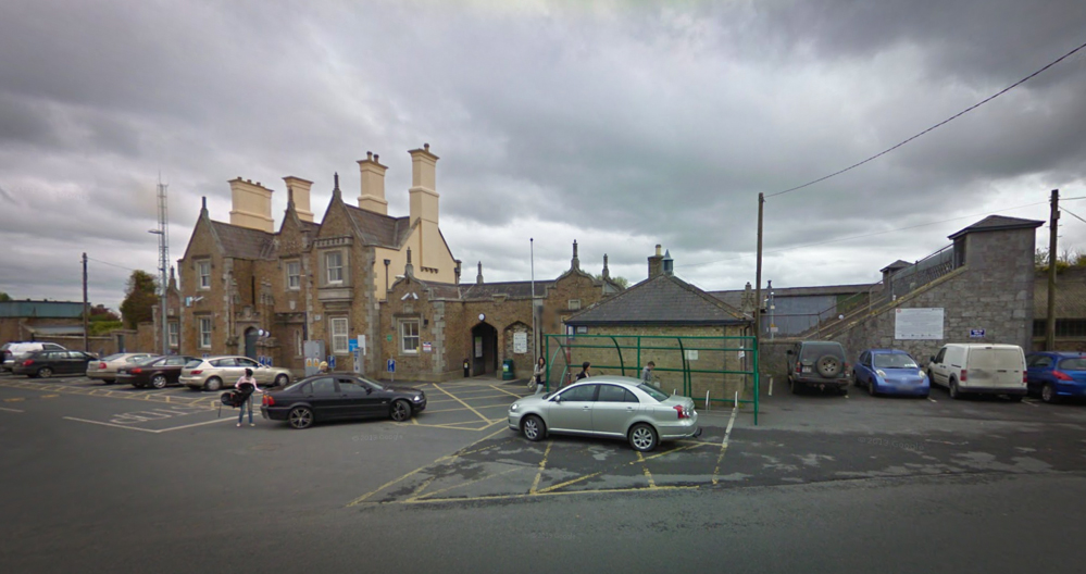 Carlow Train Station. Pic - Google Maps