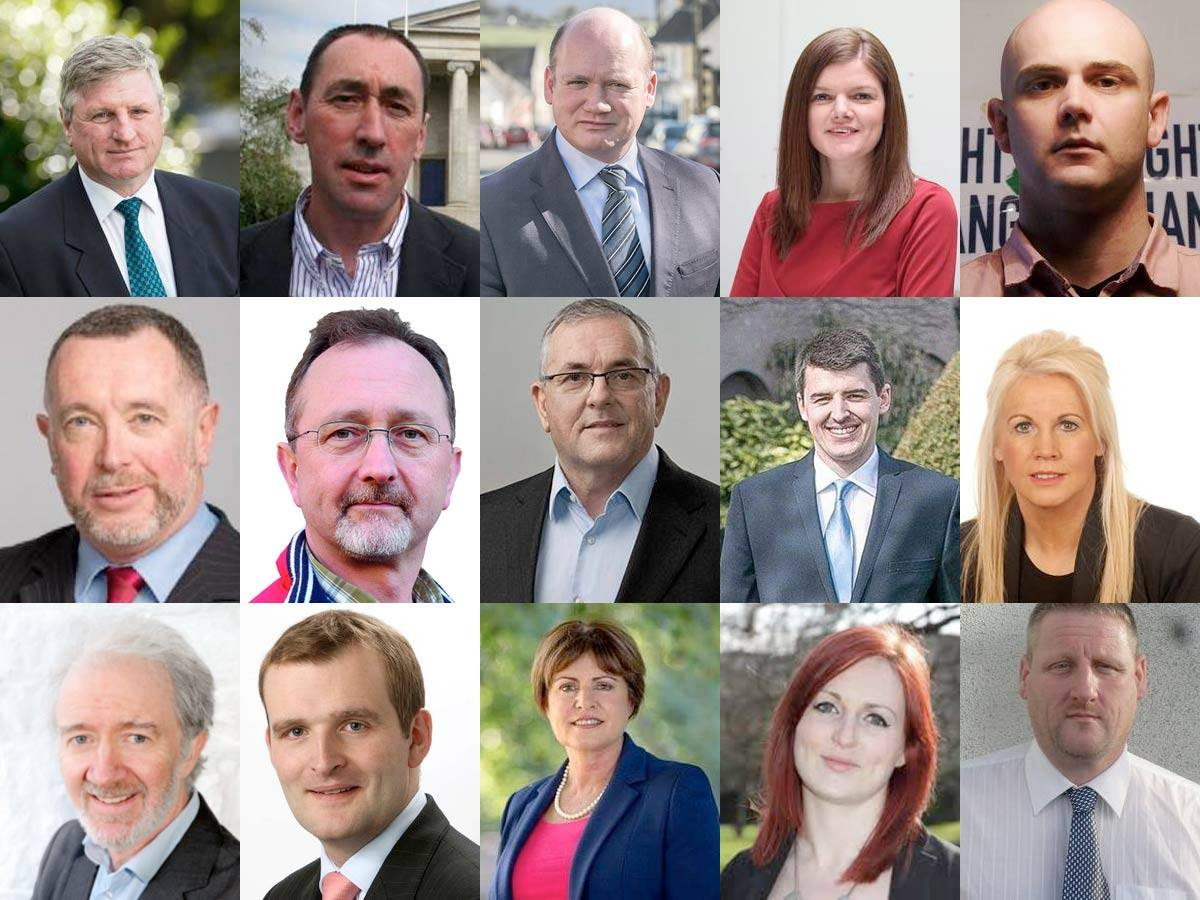 The 15 candidates running for 5 seats in 2016 Election for Carlow-Kilkenny
