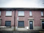 Derelict houses on Carlow's Barrack Street. Photo: Stephen Byrne/KCLR