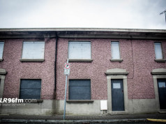 Derelict houses on Carlow's Barrack Street. Photo: Stephen Byrne/KCLR