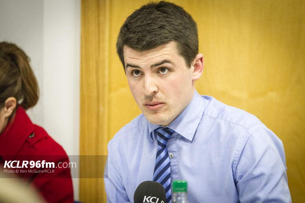 RENUA's Patrick McKee pictured during the KCLR Election debate in February 2016. Photo: Ken McGuire/KCLR