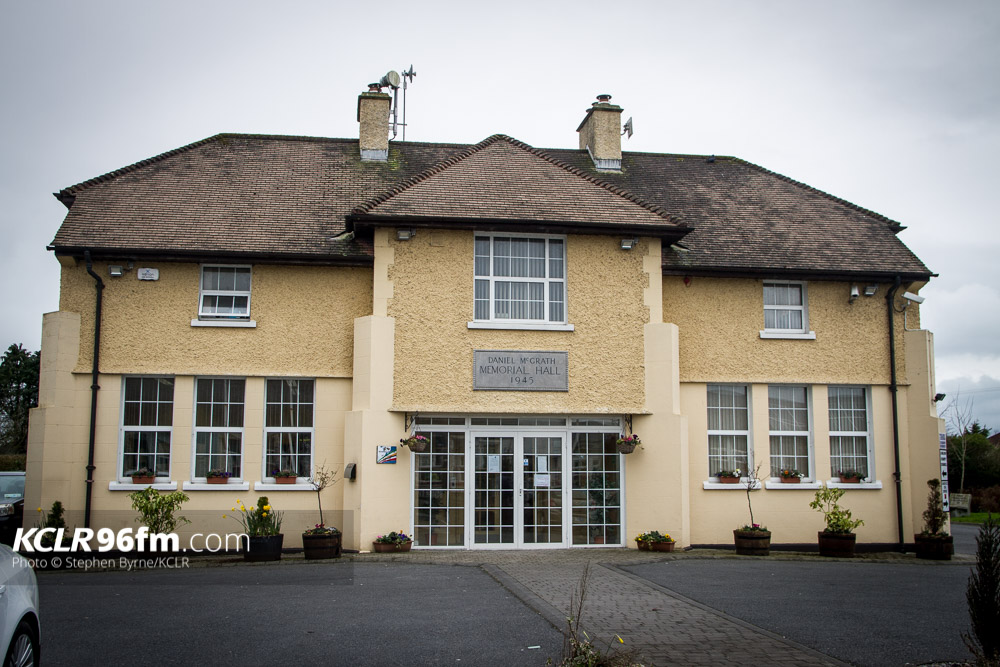 McGrath Hall, Bagenalstown, Co. Carlow. Photo: Stephen Byrne/KCLR