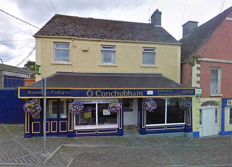 Leighlinbridge Post Office. File Photo.