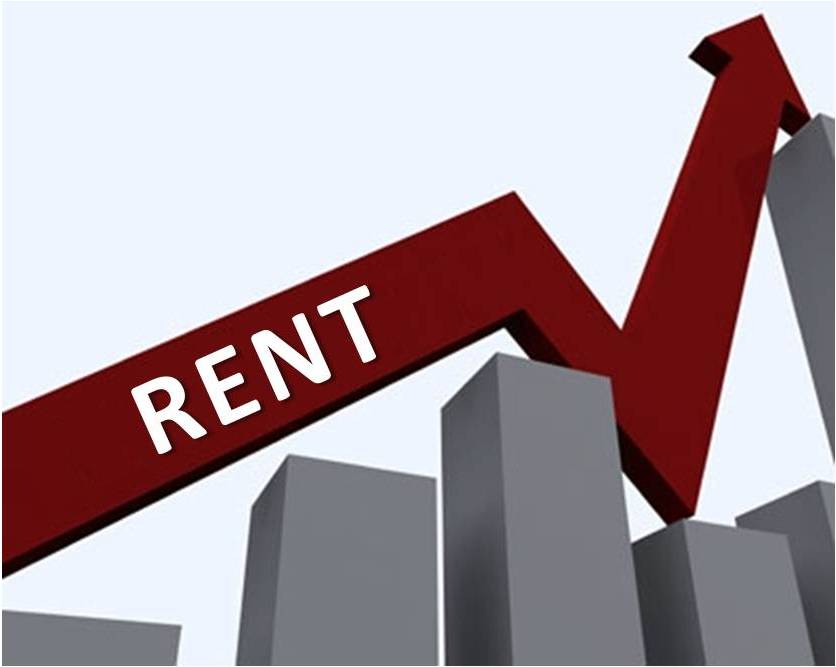 Rents are on the rise.