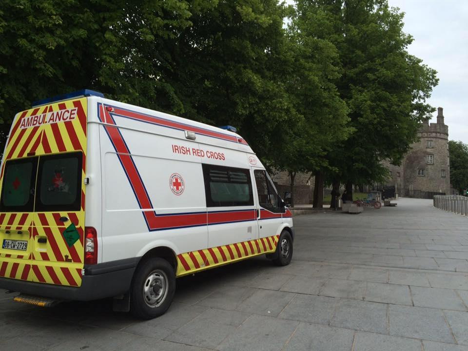 The Irish Red Cross (Carlow Kilkenny) on The Parade, Kilkenny