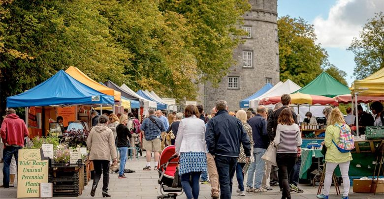 Kilkenny's Farmers Market on The Parade