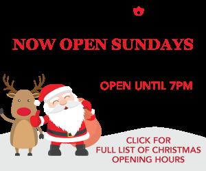 Goods Kilkenny - Christmas Opening Hours