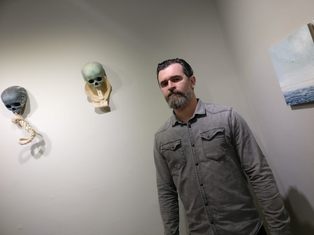 Kilkenny artist Alan Raggett's show 'Undertow' runs to 23 December. Photo: Ken McGuire/kenmcguire.ie