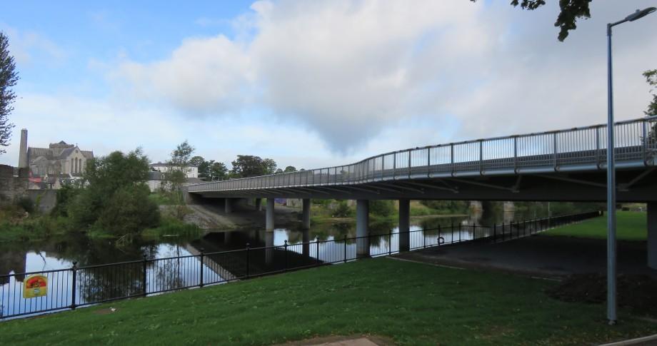 Kilkenny's Central Access Scheme Bridge