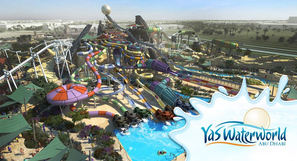Yas Waterworld, Abu Dhabi. Photo: AbuDhabi.com