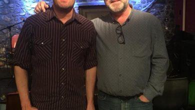 Willy Vlautin and Martin Bridgeman for Ceol Anocht on KCLR