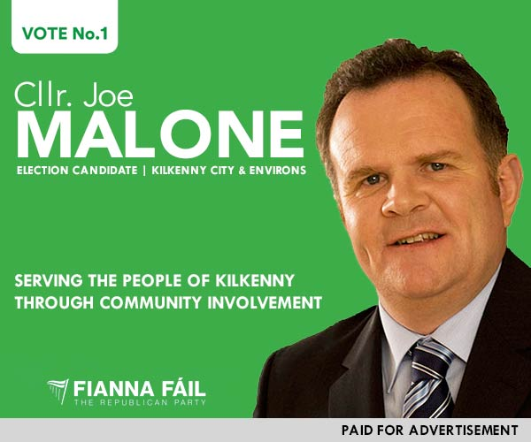 Joe Malone, Election Candidate Kilkenny