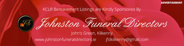 Kindly sponsored by Johnston Funeral Directors