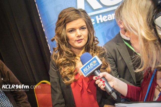 After missing out in the 2015 by-election, Sinn Féin's Kathleen Funchion made certain of her seat for Election 2016. Photo Ken McGuire/KCLR