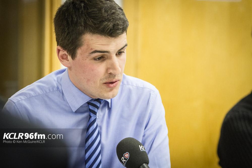 RENUA Ireland's Patrick McKee pictured during the KCLR Election debate in February 2016. Photo: Ken McGuire/KCLR