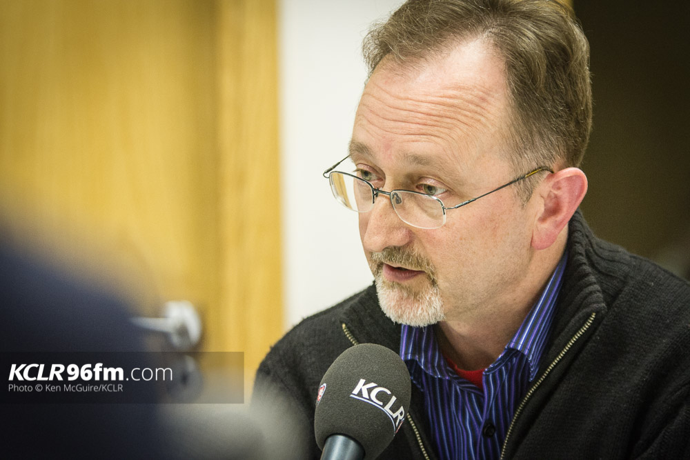 AAA's Conor MacLiam pictured during the KCLR Election debate in February 2016. Photo: Ken McGuire/KCLR
