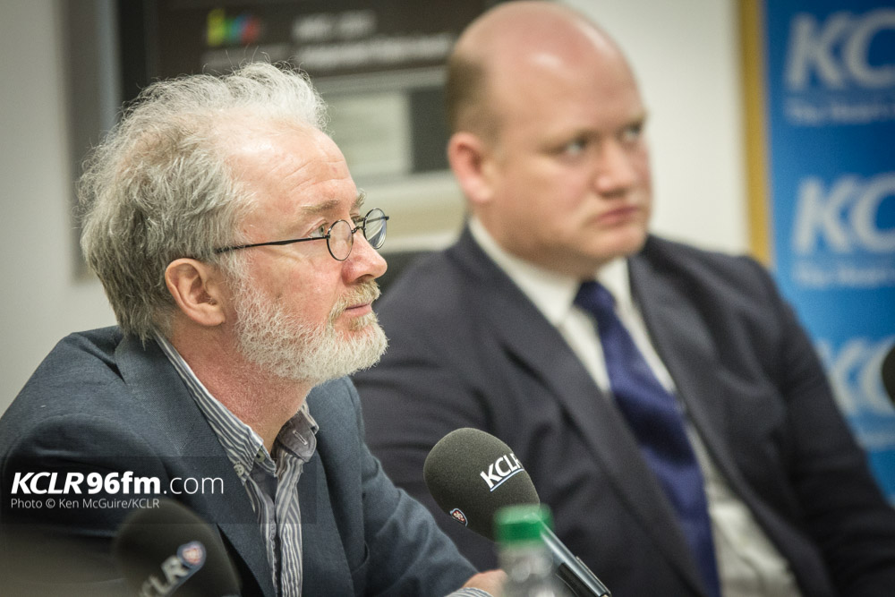 The Green Party's Malcolm Noonan pictured during the KCLR Election debate in February 2016. Photo: Ken McGuire/KCLR