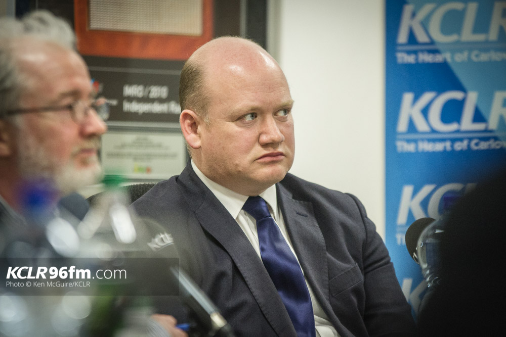 Fine Gael's David Fitzgerald pictured during the KCLR Election debate in February 2016. Photo: Ken McGuire/KCLR