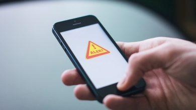 Mobile phone alerts. Mockup: kclr96fm.com