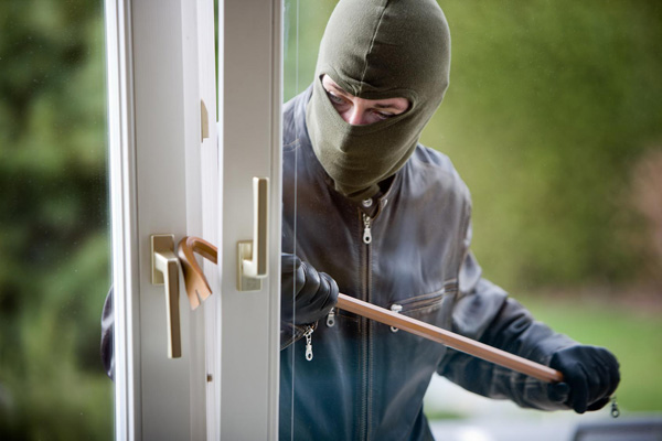 File photo of house burglary