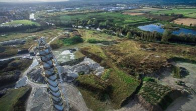 Limekiln on old Carlow Sugar Factory site. Credit: Carlow Weather on Facebook