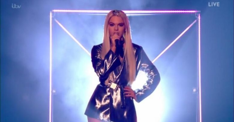 Louisa Johnson on the X Factor results show. (ITV)