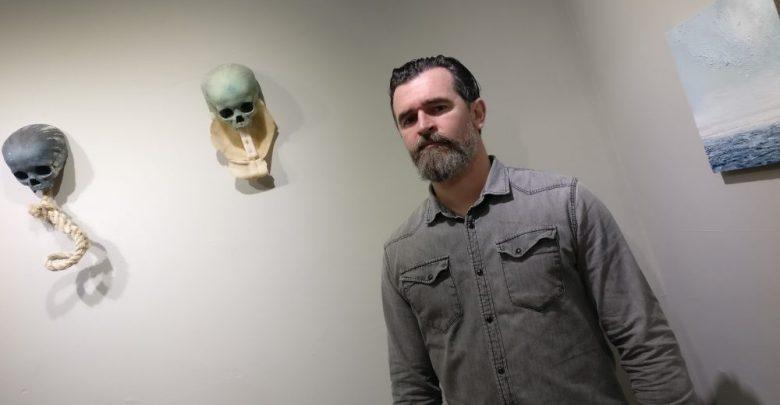 Kilkenny artist Alan Raggett's show 'Undertow' runs to 23 December. Photo: Ken McGuire/kenmcguire.ie