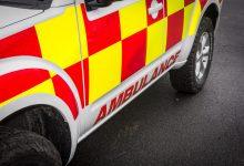 Ambulance Jeep PIC: Stephen Byrne/KCLR