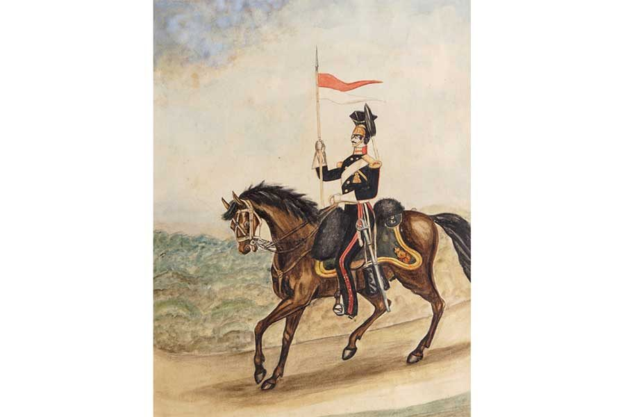 Military Figure Painting