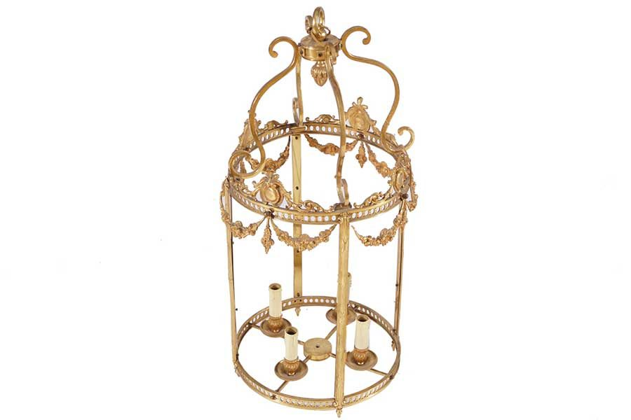 Golden Candle Cage