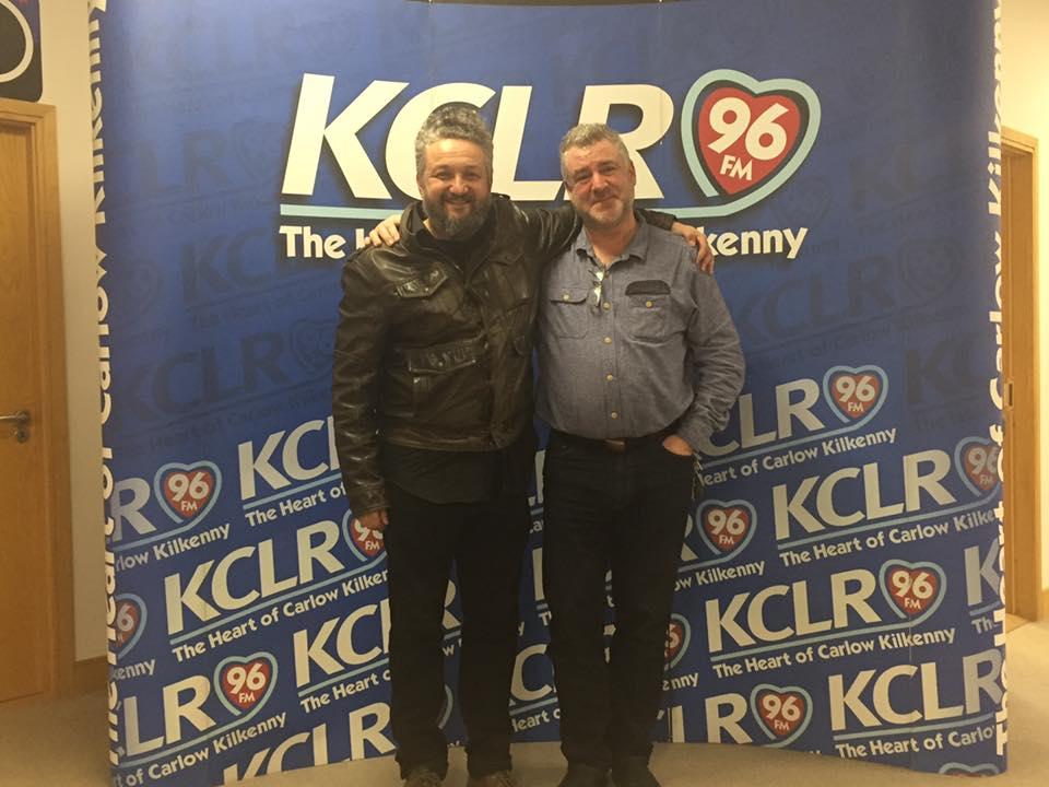 Fernando Viciconte & Martin Bridgeman at KCLR for a Studio 2 Session