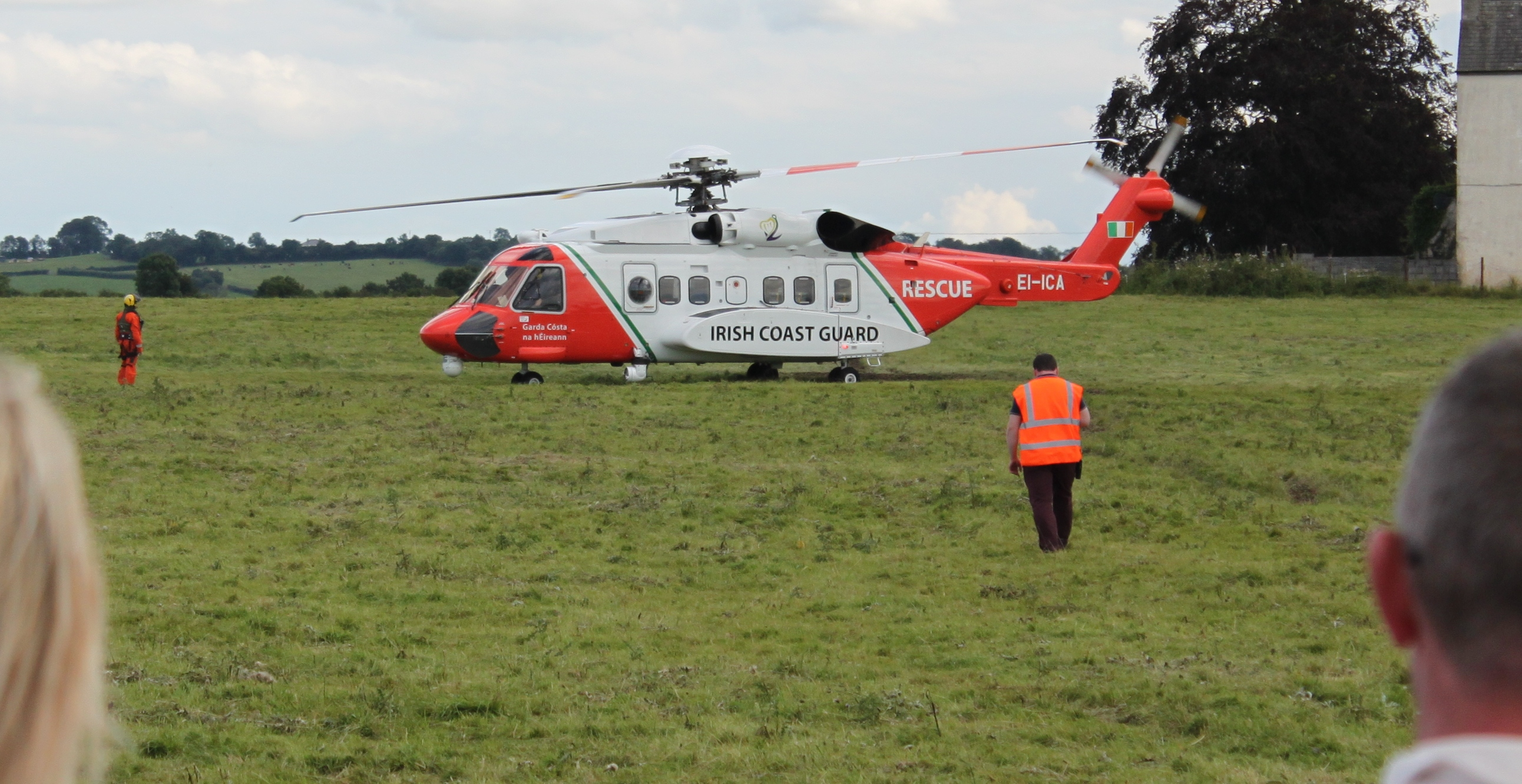 Rescue Helicopter. PIC: Stephen Byrne/KCLR