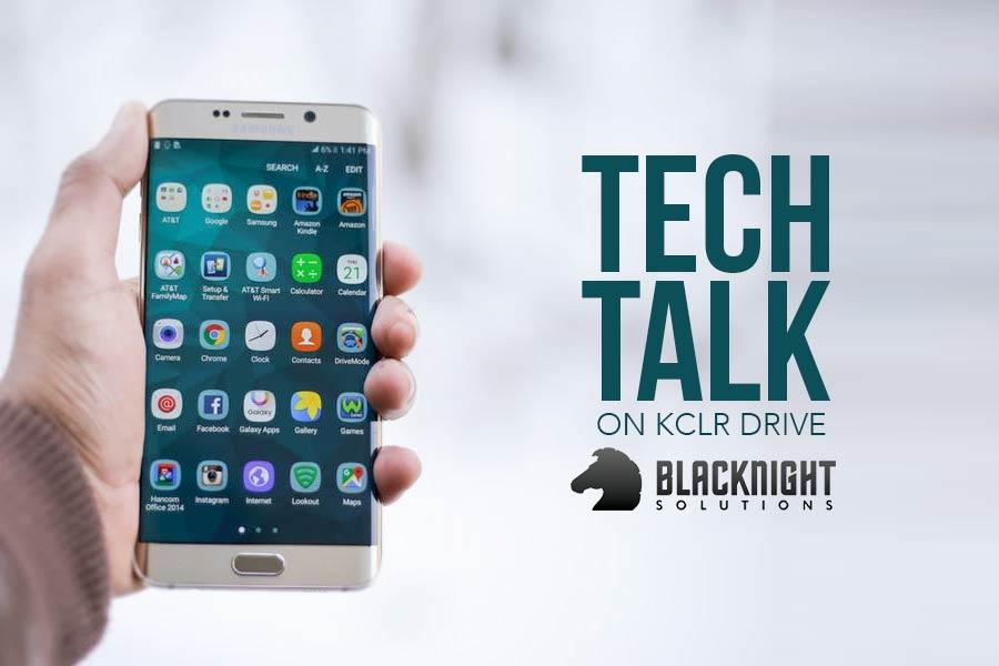 Tech Talk on KCLR with Blacknight Solutions