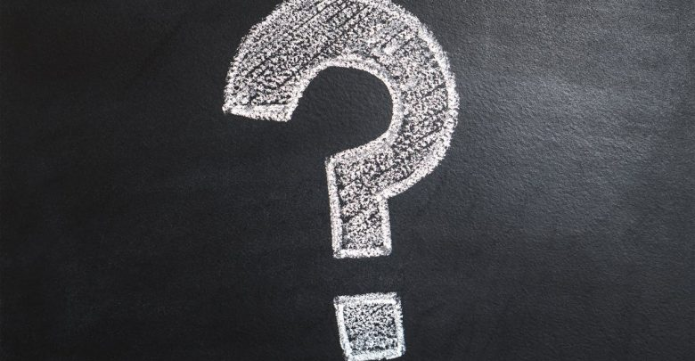 White question mark on blackboard. Photo: Pexels