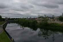 The view of the River Nore from St. Francis Bridge