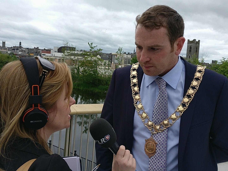 Patrick O'Neill, Mayor of Kilkenny 2016/17. Photo: Ken McGuire/KCLR