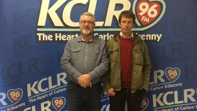 Eoin Dillon and Martin Bridgeman in Studio 2 for KCLR Blas Glas