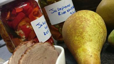 Autumn foods on KCLR Drive.