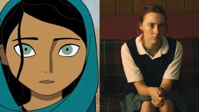 The Breadwinner (left) and Saoirse Ronan in Ladybird (right)
