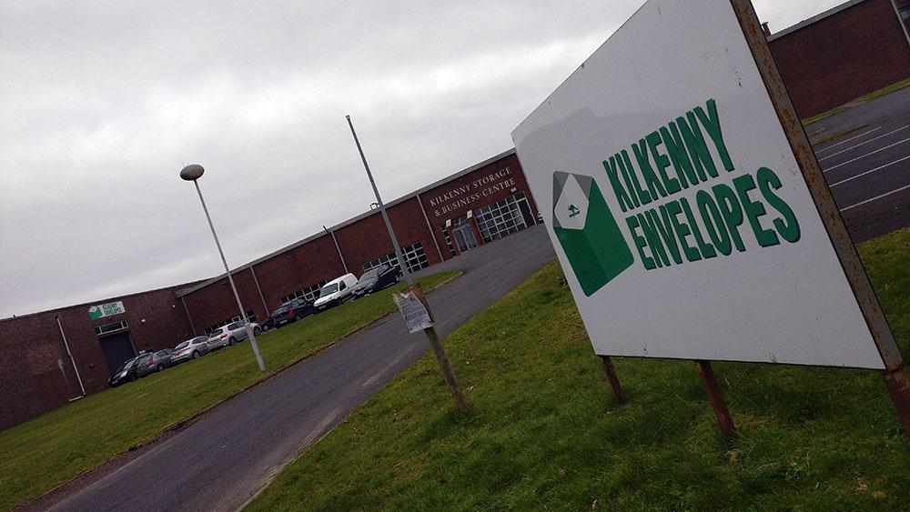 Kilkenny Envelopes. Photo: Ken McGuire/KCLR