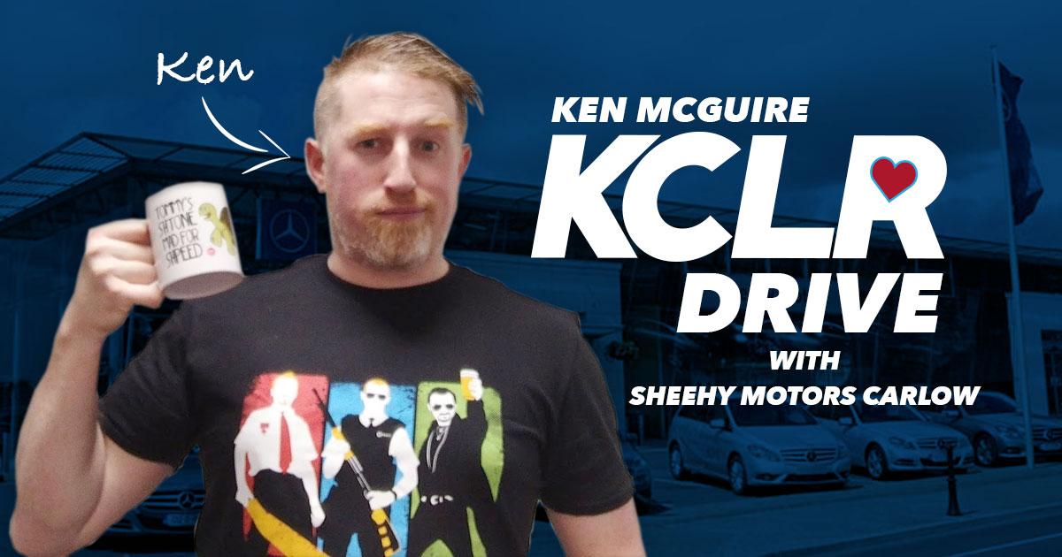 Ken McGuire on KCLR Drive