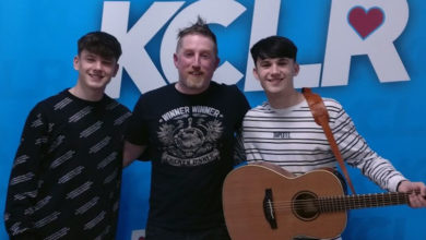 Sean and Conor Price with Ken McGuire on KCLR Drive