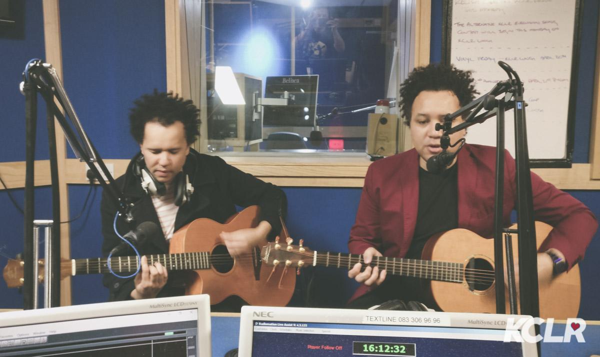 Relish - Live in studio at KCLR. Photo: Ken McGuire/KCLR