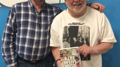 """Martin Bridgeman in conversation with Ken Beveridge, friend and patron of the Kilkenny Roots Festival and author of a recent book on his experiences as a music fan of many years """"ALife In Live Music"""", for the """"Ceol Anocht"""" show on KCLR96FM"""