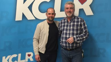 Dave Geraghty (AKA Join Me In the Pines) with Martin Bridgeman for a Ceol Anocht Studio 2 Session at KCLR
