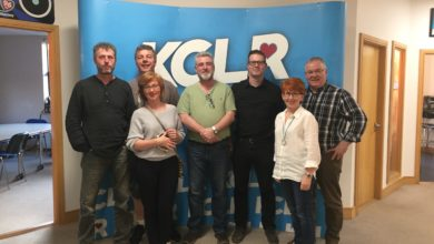 The Cedartowns in a Studio 2 Session for Ceol Anocht on KCLR with Martin Bridgeman