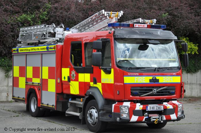 Kilkenny Fire Service vehicle picture from www.fire-ireland.com